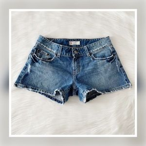 Buckle BKE Culture Distressed Denim Shorts 30